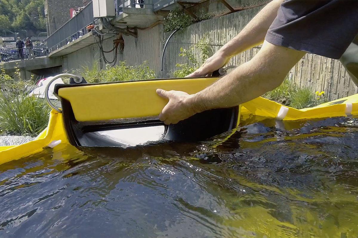 Overløp og kanalisering fleksibel