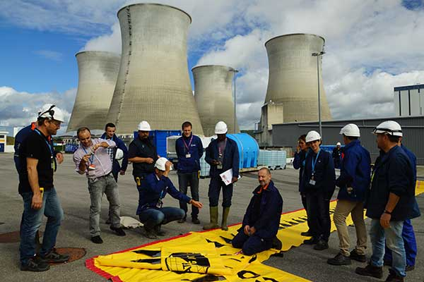 EDF trening på flom beskyttelse